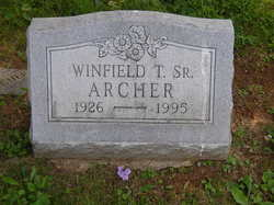 Winfield T Archer, Sr