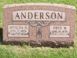 Fred W Anderson
