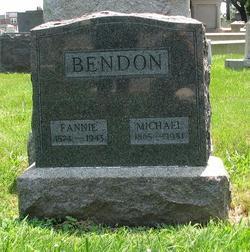 Fannie <i>Hanigbaum</i> Bendon