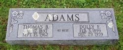 Dolly F Adams