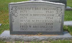 Annie A. <i>Warren</i> Brittingham