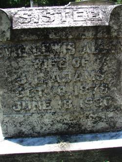 Evie Lewis <i>Allen</i> Adams