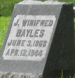 Julia Winnifred <i>Westgate</i> Bayles