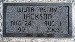 Wilma Lee Penney <i>Jones</i> Jackson