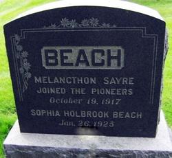 Melancthon Sayre Beach