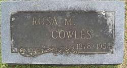 Rosa <i>Morti</i> Cowles