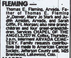 Thomas E. Fleming, Sr