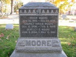 Harriet <i>Hayes</i> Moore