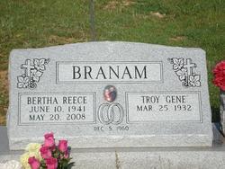 Bertha <i>Reece</i> Branam