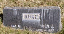 Ida Marie <i>Johnson</i> Duke