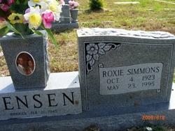 Roxie Vanus <i>Simmons</i> Jensen