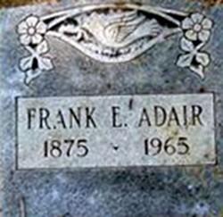 Frank E Adair