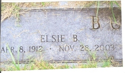 Elsie M. <i>Barngrover</i> Burroff