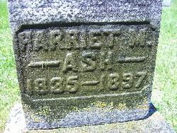 Harriet Melissa <i>Halbrook</i> Ash
