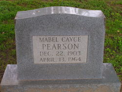 Mrs Mabel <i>Cayce</i> Pearson