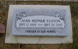Joan <i>Hefner</i> Fuston