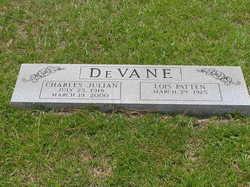 Charles Julian Tug DeVane
