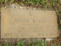 Ralph R Ady