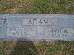 Bertha E <i>Moore</i> Adams