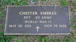 Pvt Chester Embree