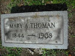 Mary A. <i>Schwegler</i> Thoman