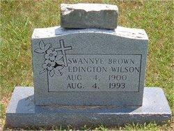 Swannye <i>Brown Edington</i> Wilson