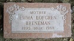 Emma Dollie <i>Lofgren</i> Breneman