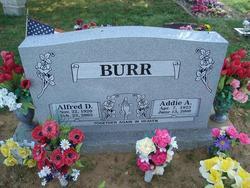 Addie A. <i>Blackwood</i> Burr