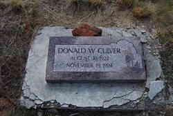 Donald Walter Culver