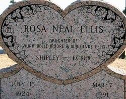 Rosa Neal <i>Ellis Shipley</i> Ecker