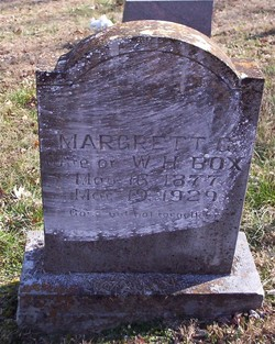 Margaret Gerothy <i>Reddell</i> Box
