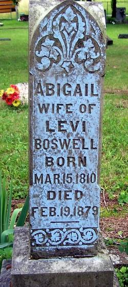 Abigail <i>Ray</i> Boswell