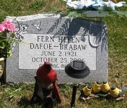 Fern Helen <i>Dafoe</i> Brabaw