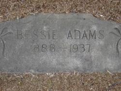 Bessie <i>(Unmarried)</i> Adams