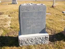 Anna F. <i>Okerberry</i> Anderson