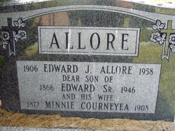 Minnie <i>Courneyea</i> Allore