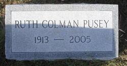 Ruth <i>Colman</i> Pusey