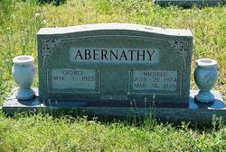 Mildred Loraine <i>Martin</i> Abernathy