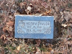 Ray Henry Taylor