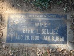 Effie Lorene <i>Hudson</i> Selliez