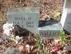 Rosa H Balliet