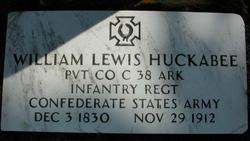 William Lewis Huckabee, Sr