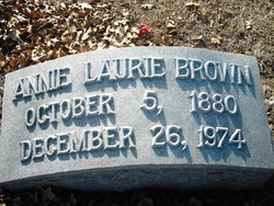 Annie Laurie Brown