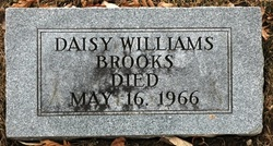 Daisy <i>Williams</i> Brooks