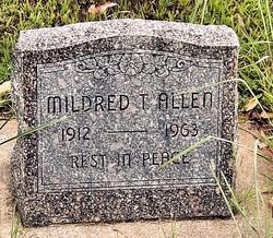 Mildred T Allen