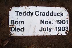Teddy Cradduck