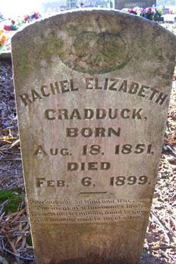 Rachel Elizabeth <i>McCurdy</i> Cradduck