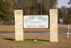 Cedar Grove Missionary Baptist Church Cemetery