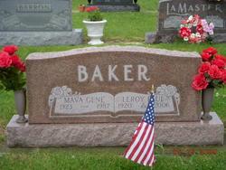 Mava Gene <i>Wallace</i> Baker