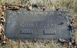 Celia I <i>Horle</i> Adams